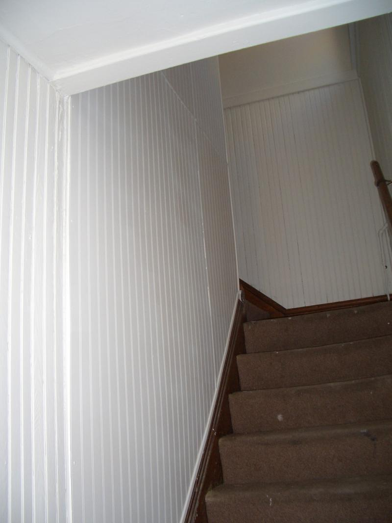 RENTAL PROPERTY HALLWAY BEFORE & AFTER